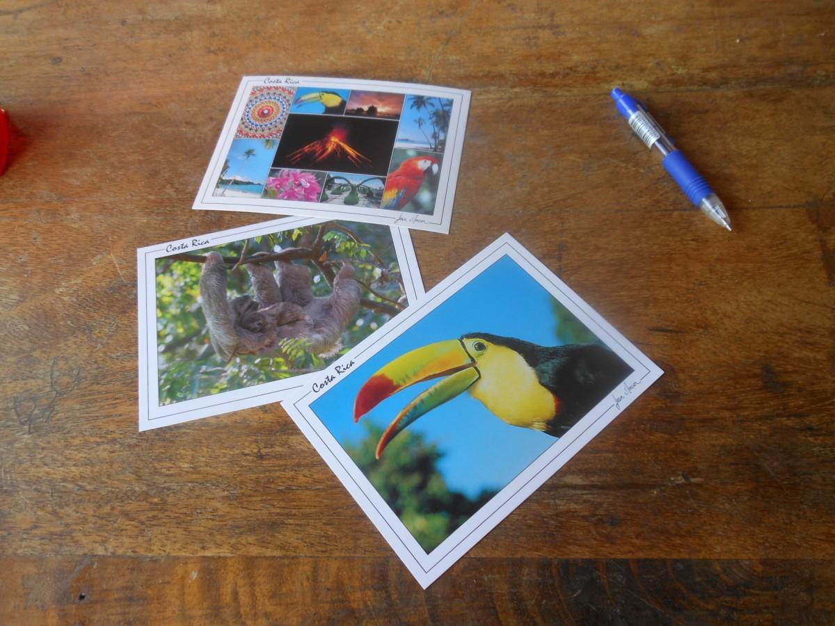 pocztowka z kostaryki